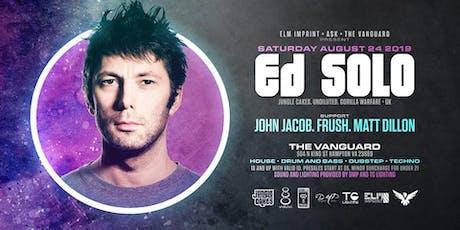Ed Solo, John Jacob, Frush, Matt Dillon @ The Vanguard tickets