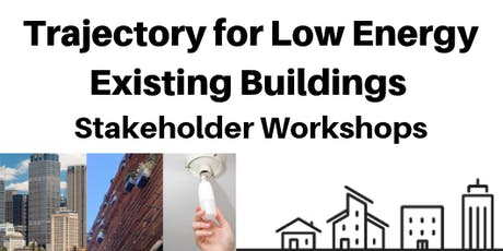 Trajectory for low energy existing buildings - Hobart workshop tickets