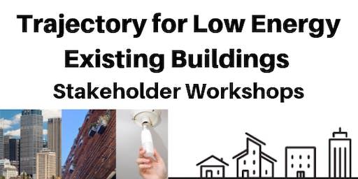 Trajectory for low energy existing buildings - Hobart workshop