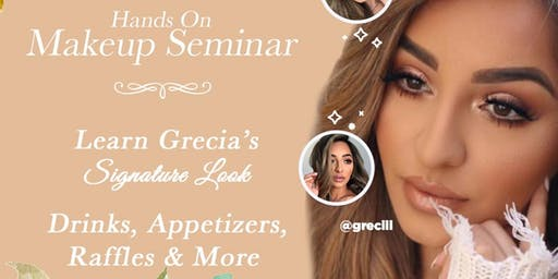 Hands-On Makeup Seminar with @Greciii