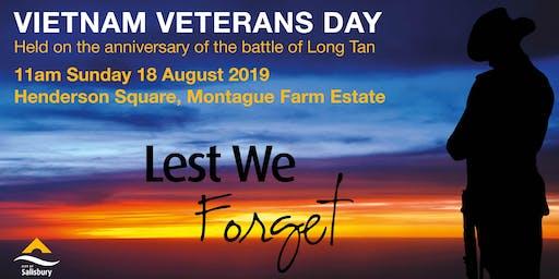 Vietnam Veterans Day Ceremony
