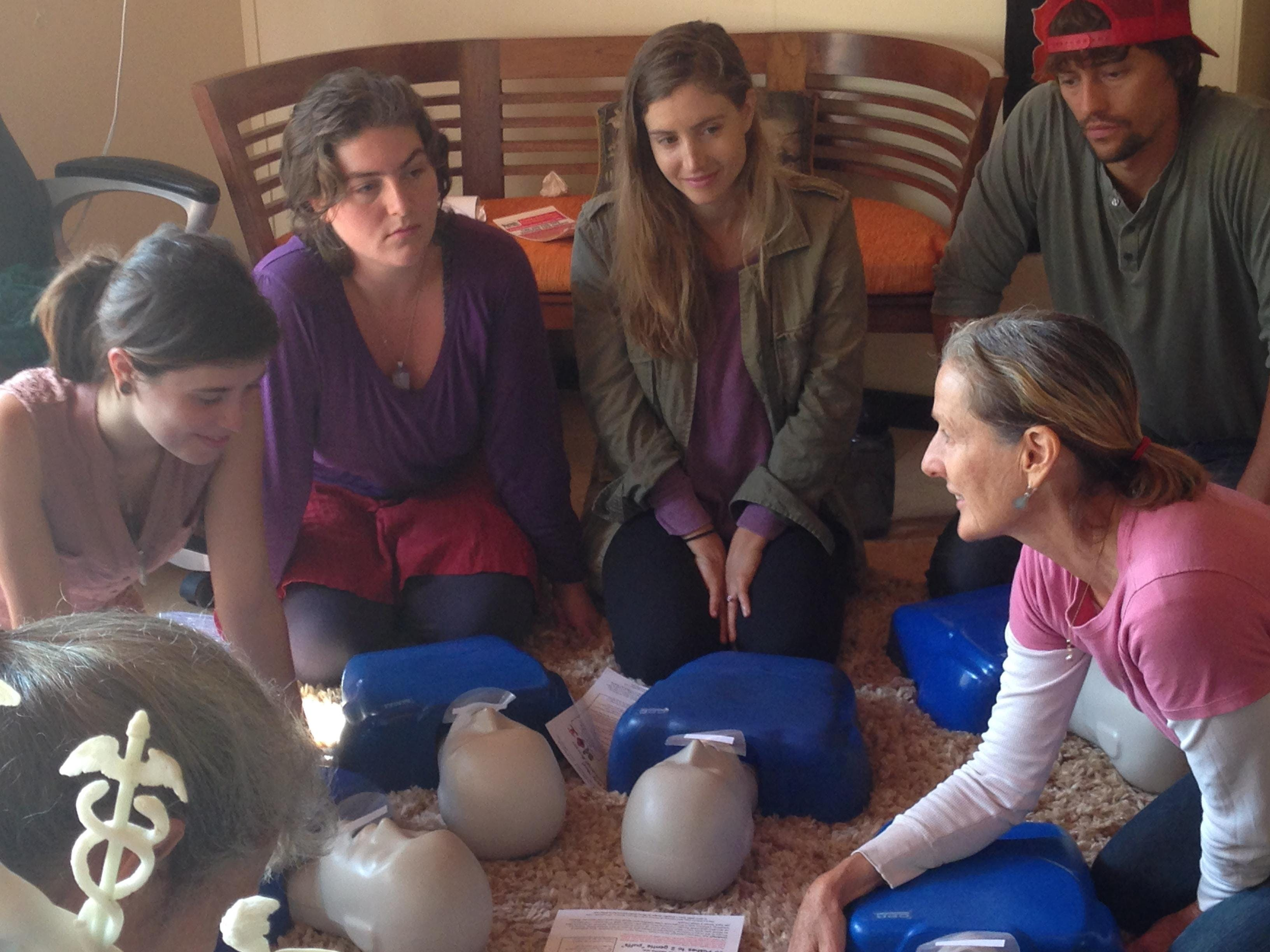 Encino A  RED CROSS Adult-Pediatric CPR-AED and First Aid Class