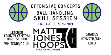 Offensive Concepts & Ball Handling (Grades 6-8 | Coed) by Matt Jones Hoops tickets