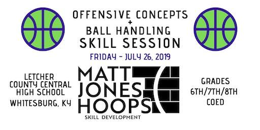 Offensive Concepts & Ball Handling (Grades 6-8   Coed) by Matt Jones Hoops