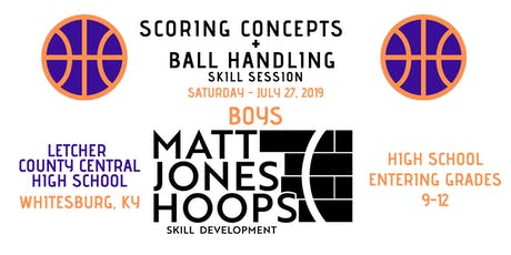 Scoring Concepts & Ballhandling Skill Session (HS Boys)by Matt Jones Hoops tickets