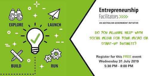 Entrepreneurship Facilitator Service: Social Media for Micro Businesses Workshop