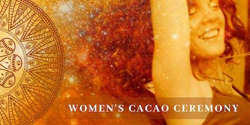 Women's Cacao Circle - Breathwork, Dance, Shamanic Sound