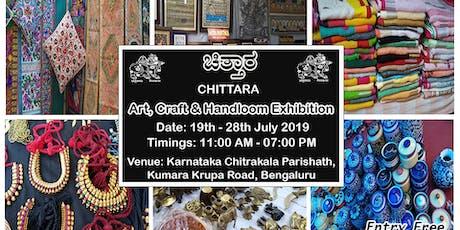 Chittara - Art, Craft & Handloom Exhibition tickets