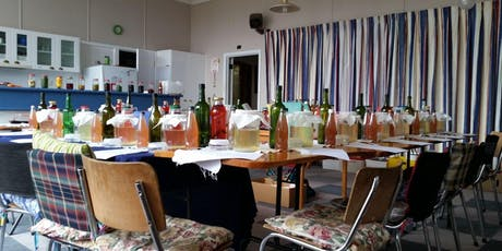 Fermented Drinks - Water Kefir & Kombucha WORKSHOP- Probiotic drinks  tickets