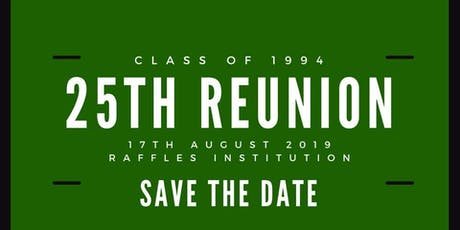RI Class of 94 : 25th Anniversary Reunion tickets