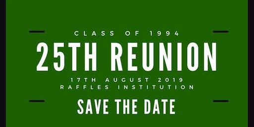 RI Class of 94 : 25th Anniversary Reunion