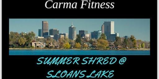 Carma Fitness Summer Shred