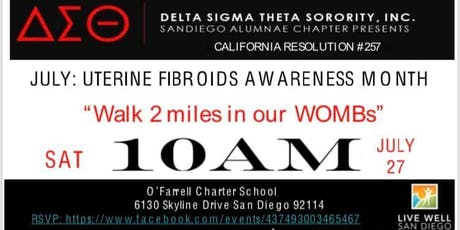 Walk for Uterine Fibroids Awareness Month tickets