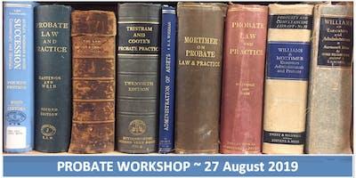 Probate Workshop