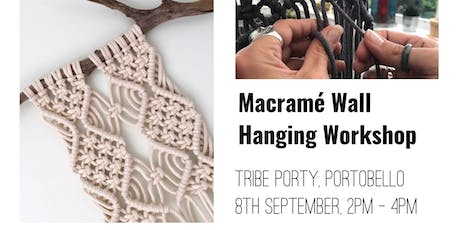 Macrame Wall Hanging Workshop - Edinburgh tickets