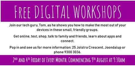 Get Online: Digital Workshops tickets