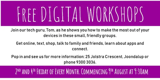 Get Online: Digital Workshops