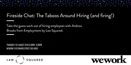Fireside Chat: The taboos around hiring tickets