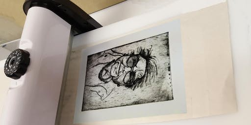 Drypoint Etching using the Xcut Xpress