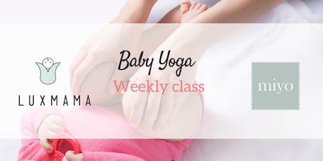 Baby Yoga Class (Luxmama ParentPrep) Tickets