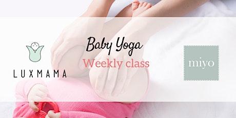 Baby Yoga Classes Fall/winter 2020 (Luxmama ParentPrep) Tickets