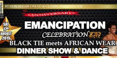 Emancipation Celebration: Black Tie meets African