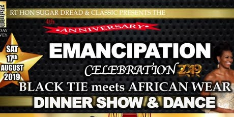 Emancipation Celebration: Black Tie meets African Wear tickets