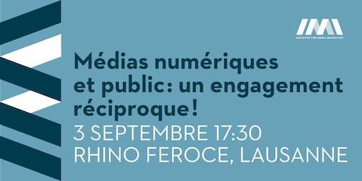 Médias numériques et public : un engagement réciproque !