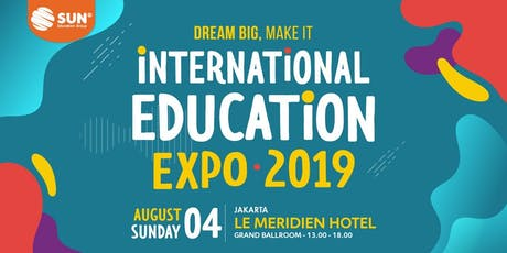 International Education Expo Jakarta 2019 tickets