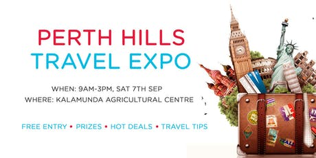 Perth Hills Travel Expo 2019 tickets