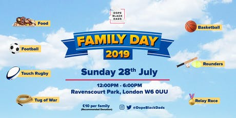 Dope Black Dads - Family Day tickets