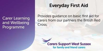 Carer Workshop:  Everyday First Aid - Worthing