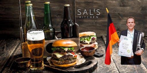 Beer & Burger Tasting