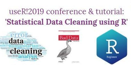 useR!2019 conference & tutorial: 'Statistical Data Cleaning using R' biglietti