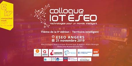 5ème COLLOQUE IoT ESEO - RESERVATION EXPOSANT billets