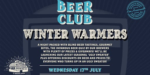 Beer Club - Winter Warmers