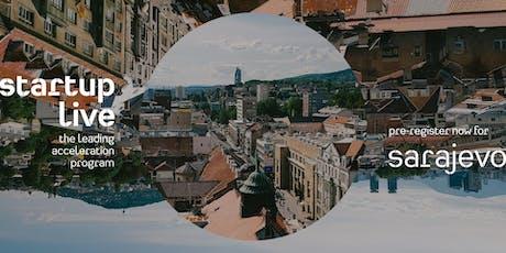 Startup Live Sarajevo — boost your startup tickets