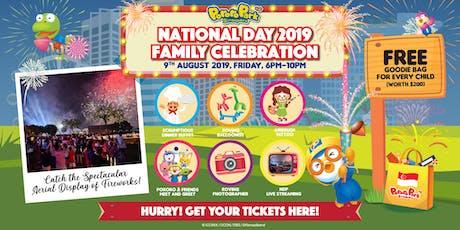 National Day 2019 Celebration @ Pororo Park Singapore! tickets