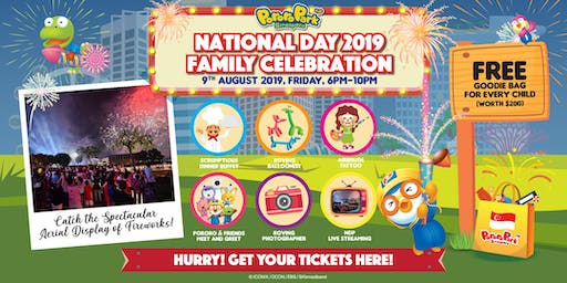 National Day 2019 Celebration @ Pororo Park Singapore!