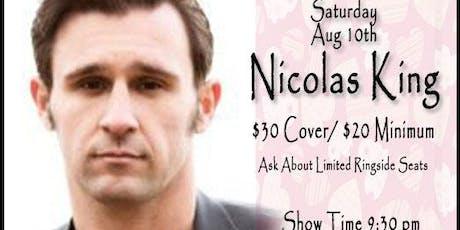 Nicolas King  tickets