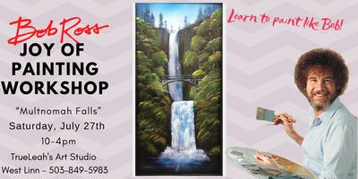Bob Ross Joy of Painting Workshop - Multnomah Falls
