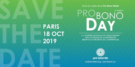 Pro Bono Day : journée nationale de l'engagement par le partage de compétences billets
