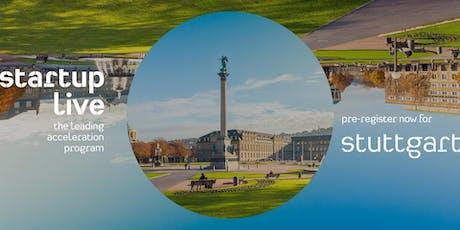 Startup Live Stuttgart — mobility & logistics Tickets