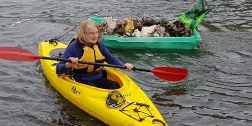 Norman Creek Paddle Against Plastic