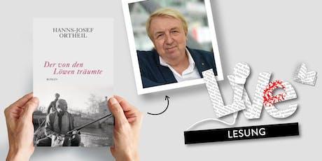 LESUNG: Hanns-Josef Ortheil Tickets