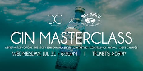 Gin Masterclass - presented by Manly Spirits tickets