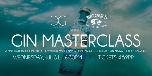 Gin Masterclass - presented by Manly Spirits