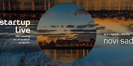 Startup Live Novi Sad — boost your startup tickets