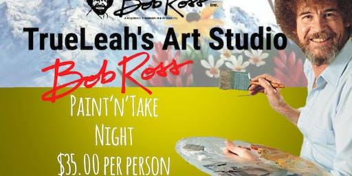 Bob Ross Paint'N'Take Night - Ocean Sunset