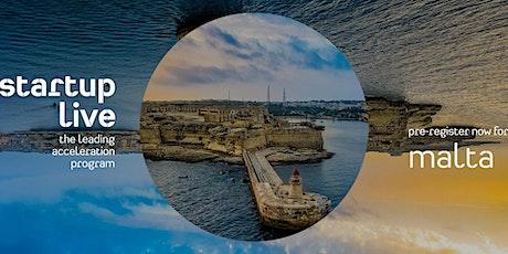 Startup Live Malta — blockchain tickets